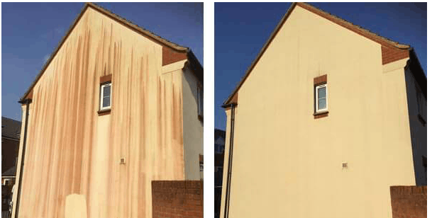 soft wash render cleaning cardiff