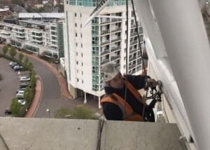 high rise window cleaning cardiff